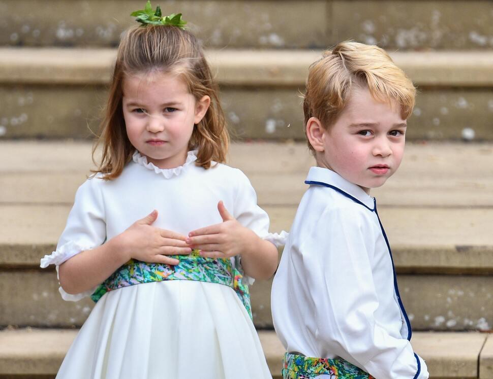Друг королевской семьи описал принца Джорджа: «Он веселый и любознательный»