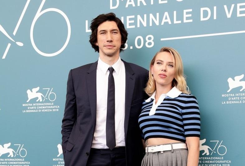 Фото: Скарлетт Йоханссон и Адам Драйвер представили «Брачную историю» на Венецианском фестивале