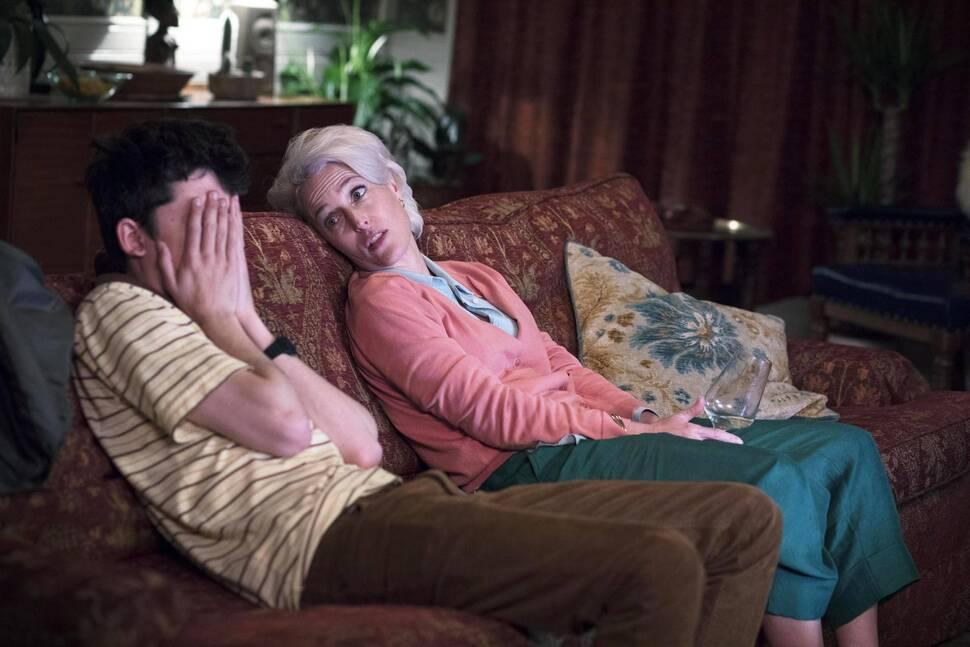 Джиллиан Андерсон призналась, что выбросила сценарий «Полового воспитания» в мусор