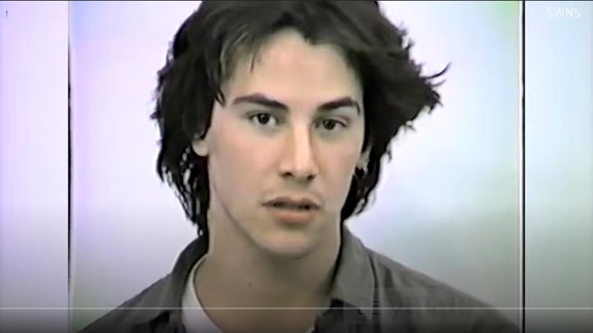 Такой молодой: в Сети появились видео с пробами Киану Ривза на роль в «Билле и Теде»