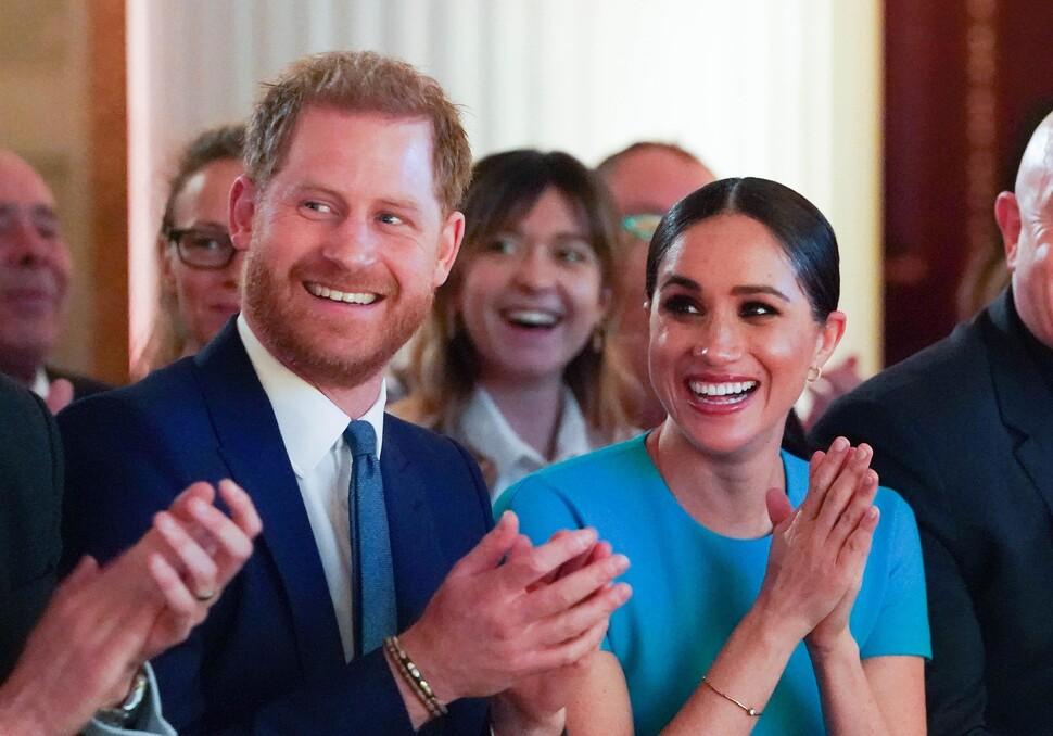 Принц Гарри и Меган Маркл впервые вышли в свет после «Мегзита»