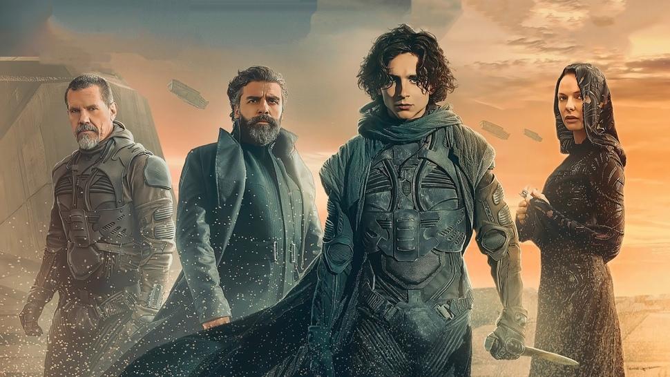 Создатели «Дюны» представили первый трейлер, новые кадры и фото со съемок