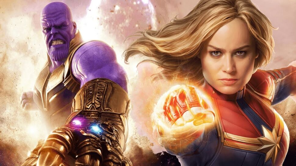 Сцены с избиением Капитана Марвел Таносом не было в сценарии «Мстителей: Финал»