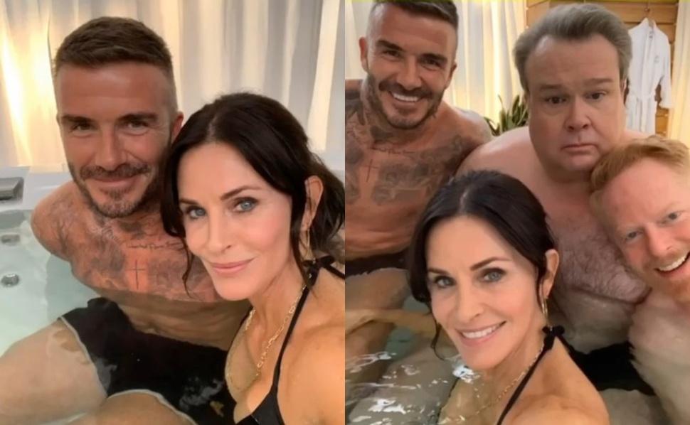 Кортни Кокс намекнула на камео в «Американской семейке» снимком из ванной