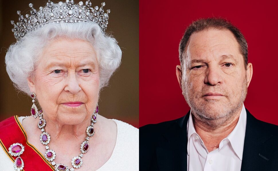 Королева Елизавета II лишила Харви Вайнштейна титула рыцаря