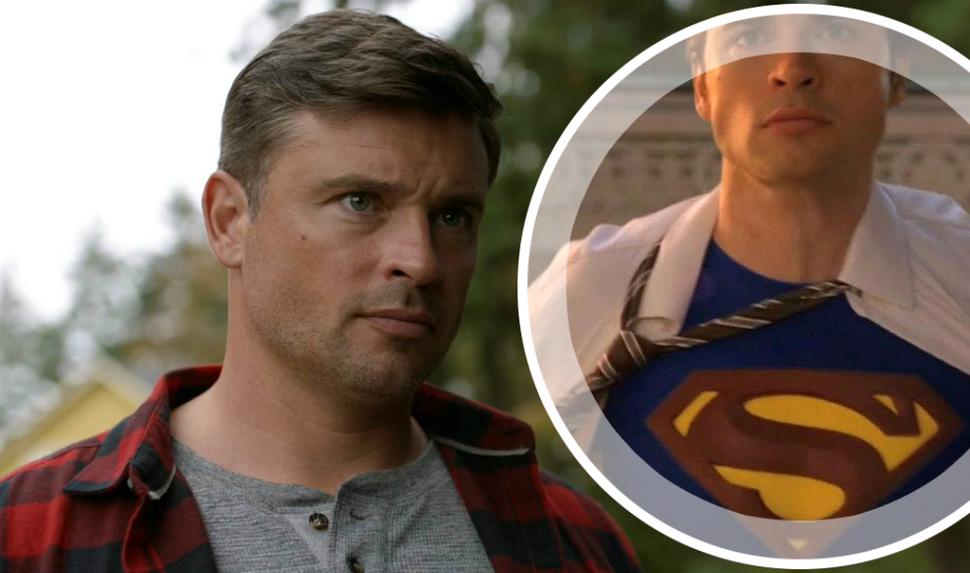 Звезда «Тайн Смолвиля» Том Уэллинг так и не примерил костюм Супермена в «Кризисе на Бесконечных землях»