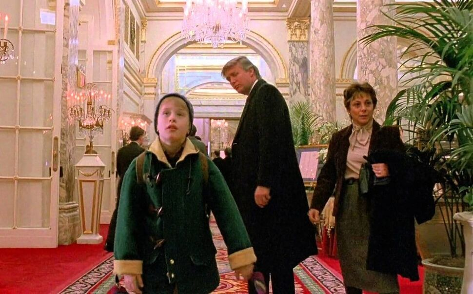 Дональда Трампа вырезали из фильма «Один дома 2»