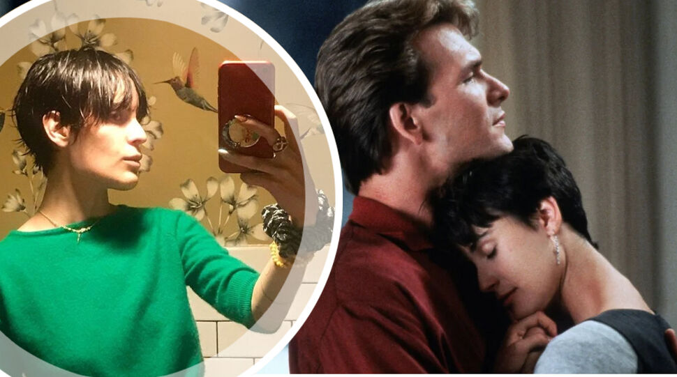Дочь Деми Мур Таллула повторила образ матери из фильма «Привидение»