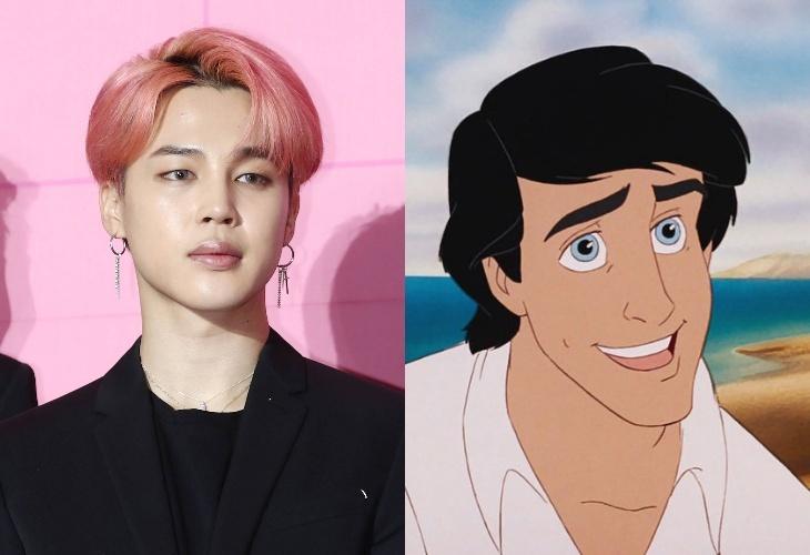 Фанаты BTS выдвинули Чимина на роль принца Эрика в «Русалочке»: толерантность ― так во всем