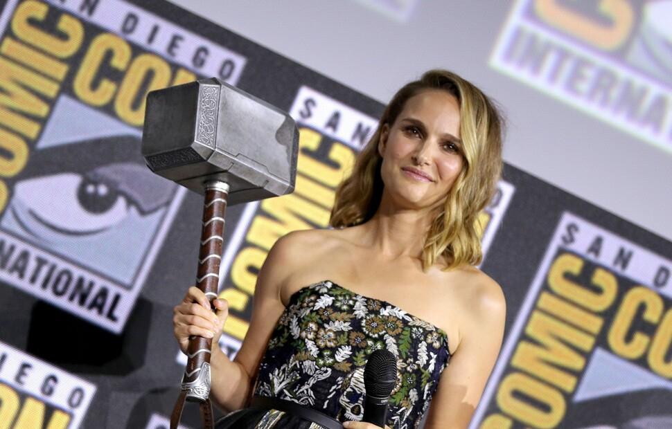 Натали Портман, возможно, раскрыла спойлер к фильму «Тор: Любовь и гром»