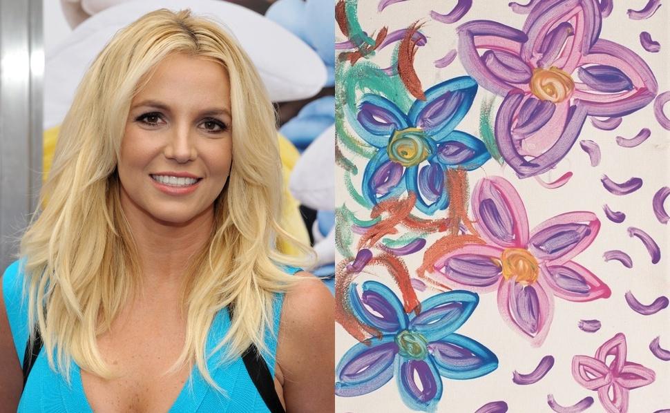 «Надеюсь, это шутка?»: в Сети обсуждают выставку картин Бритни Спирс