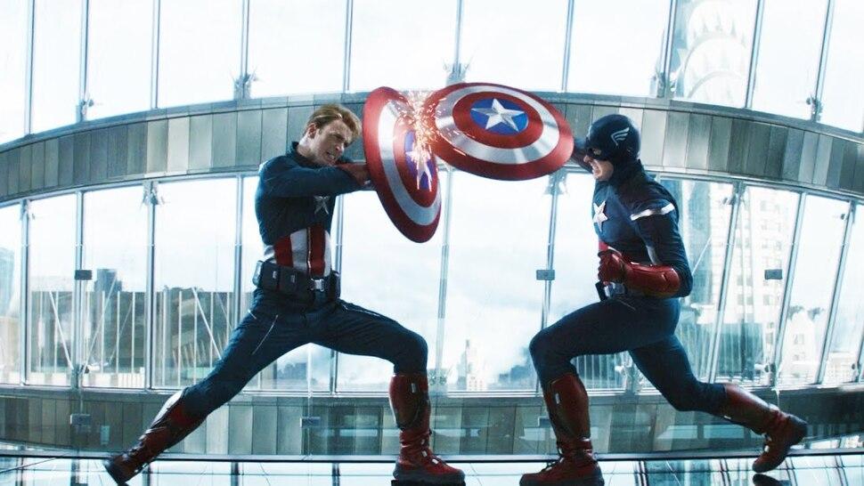 «Мстители: Финал»: Капитан Америка против Капитана Америки на раннем концерт-арте