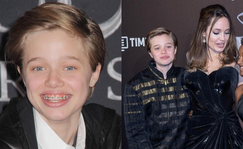 Теперь официально мальчик: 13-летняя дочь Анджелины Джоли Шайло сменила имя на Джон