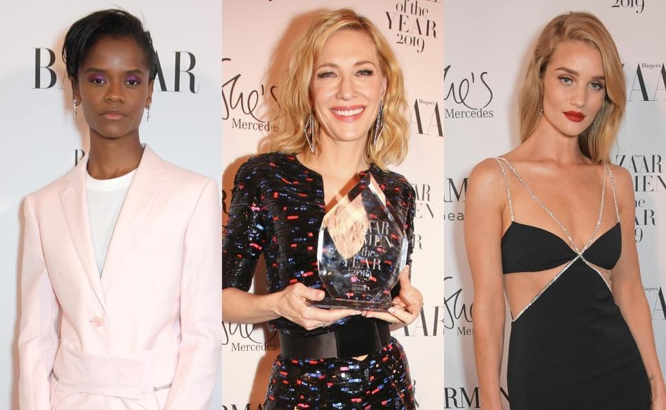 Фото: Кейт Бланшетт, Летишиа Райт и другие на красной дорожке премии «Женщина года» 2019 от Harper's Bazaar