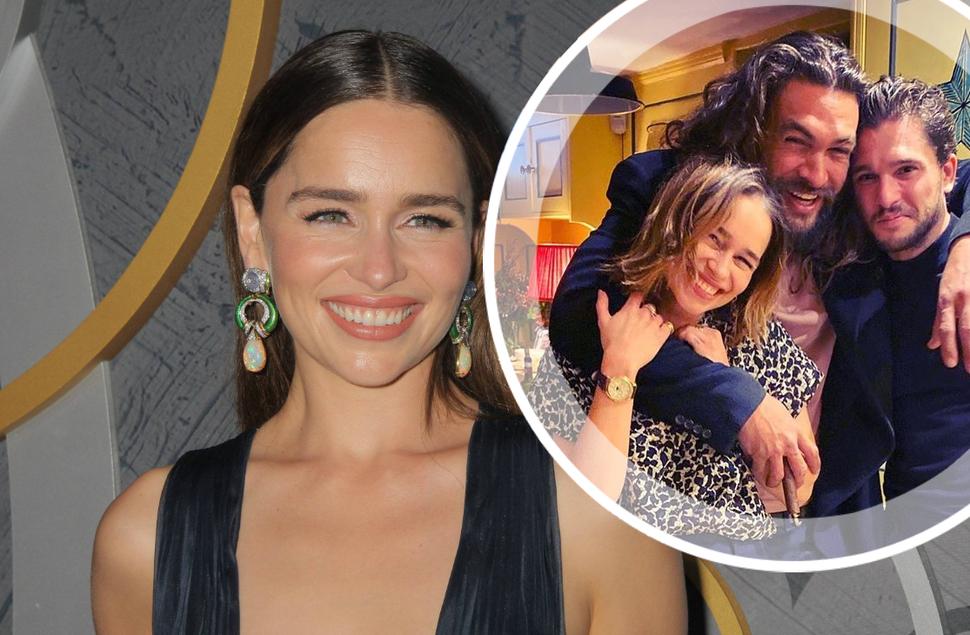 Эмилия Кларк рассказала, как отметила 33-летие с «бывшими любовниками» из «Игры престолов»