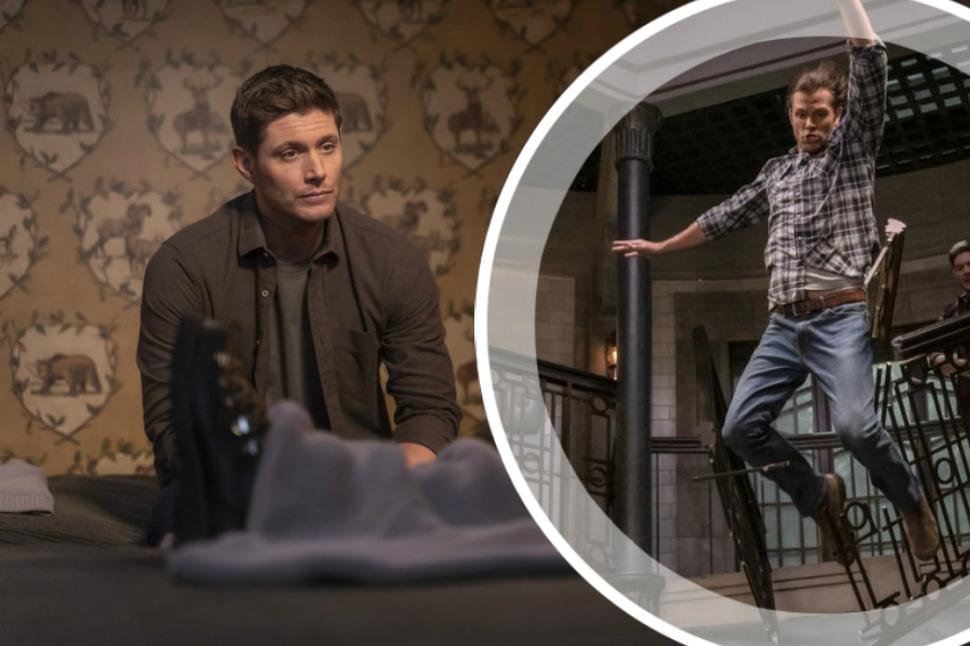 Кадры 5 эпизода «Сверхъестественного»: «Обычное задание Дина и Сэма оборачивается неожиданностью»