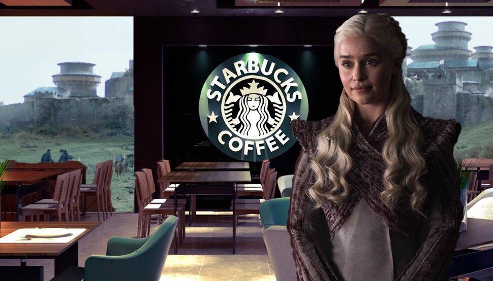 Шоураннеры «Игры престолов» оправдались за стакан из Starbucks в кадре: «Только бог делает все идеально»