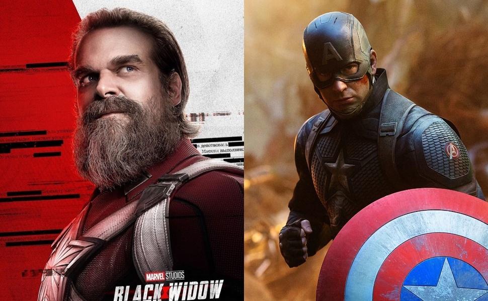 Звезда «Черной Вдовы» ответил, кто победит в драке: Красный Страж или Капитан Америка