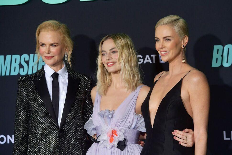 Марго Робби, Шарлиз Терон и Николь Кидман представили «Скандал» в Лос-Анджелесе