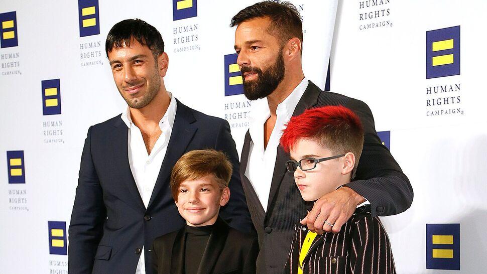 Рики Мартин рассказал о своих 11-летних близнецах: «Они прекрасные няньки»