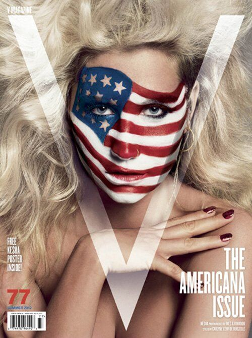 Ke$ha в журнале V. Выпуск 77