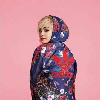 Рита Ора создает коллекцию для Adidas