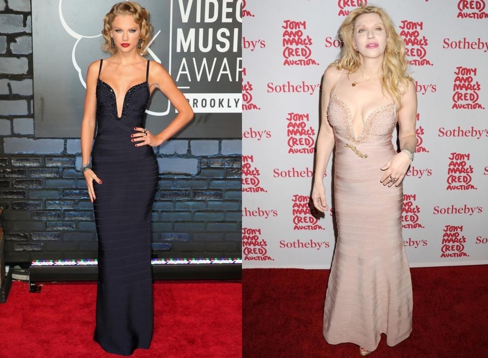 Fashion battle: Тейлор Свифт и Кортни Лав