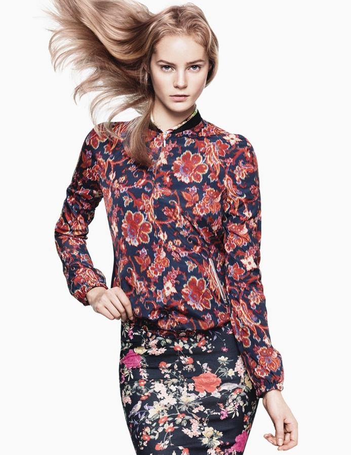 Рекламная кампания Zara TRF. Весна / лето 2012
