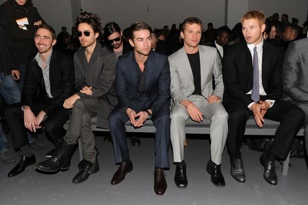 Горячие парни на показе Calvin Klein Men's Collection