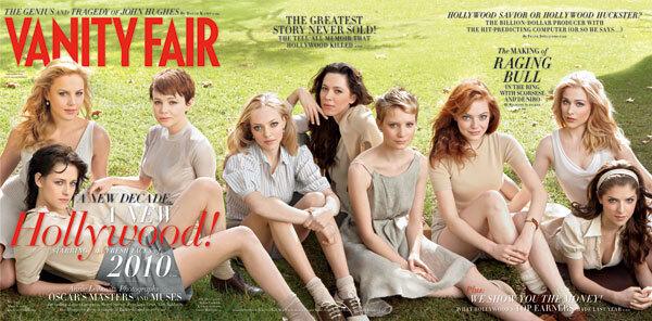 Актрисы молодого Голливуда в журнале Vanity Fair