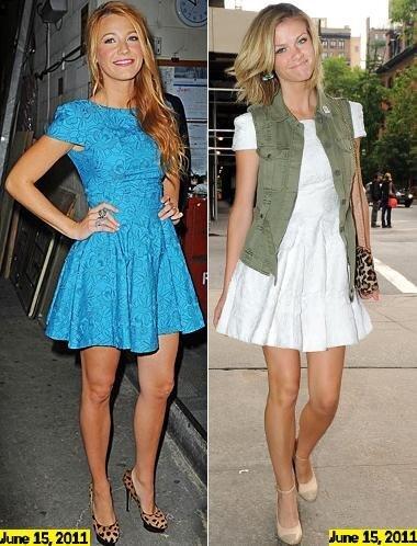 Fashion Battle: Блэйк Лайвли и Бруклин Деккер