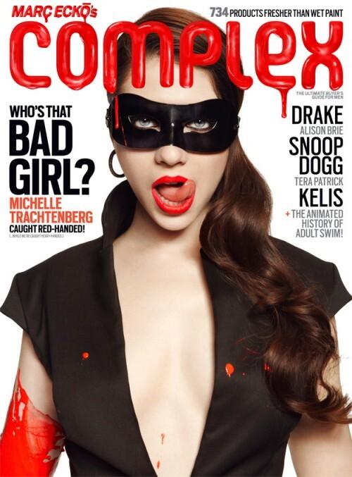 Мишель Трахтенберг в журнале Complex. Март 2010
