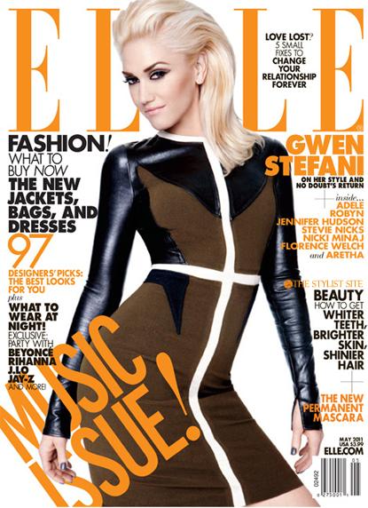 Гвен Стефани в журнале Elle. Май 2011