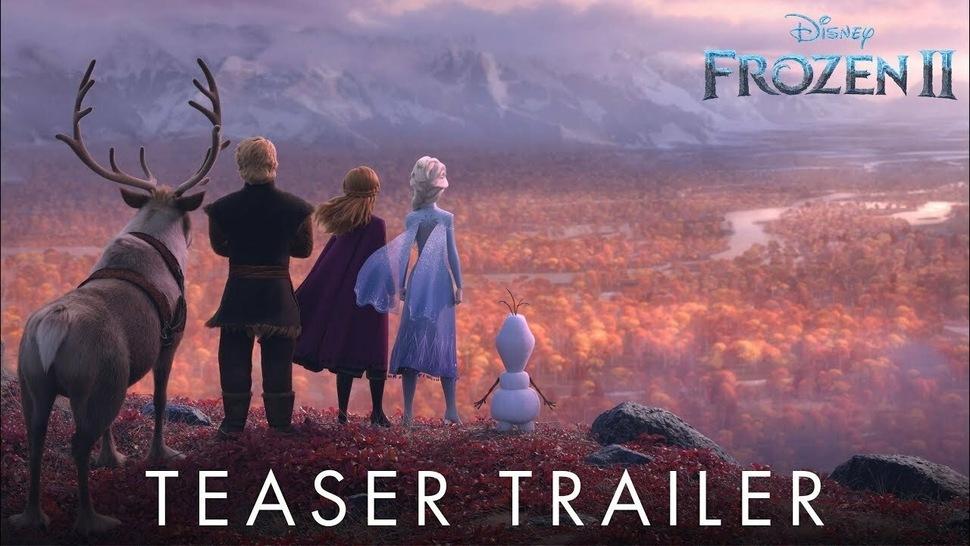 Дождались: Disney показала первый тизер-трейлер «Холодного сердца 2»