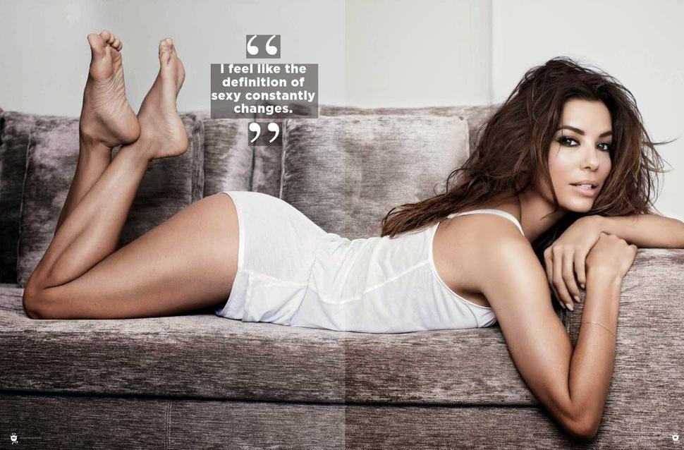 Ева Лонгория в журнале Maxim Южная Африка. Апрель 2014