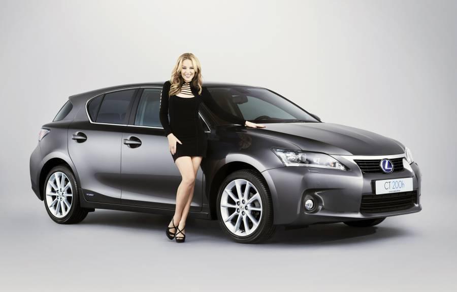 Кайли Миноуг в рекламе Lexus