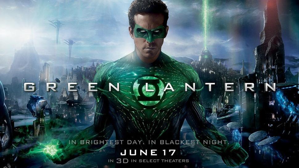 """Отснятый материал фильма """"Зеленый фонарь"""" для WonderСon 2011"""