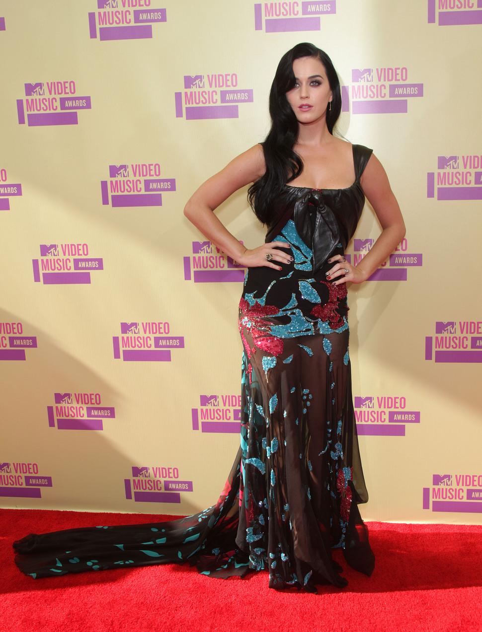Звезды на MTV Video Music Awards 2012