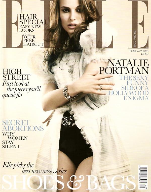 Натали Портман в журнале Elle UK. Февраль 2010