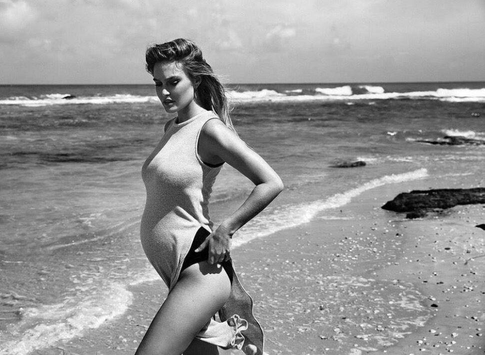 Беременная Бар Рафаэли снялась в фотосессии для Elle, июнь 2016