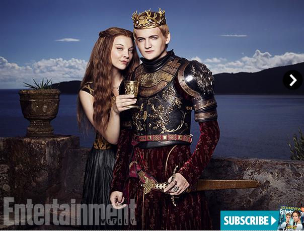 «Игра престолов»: Подробности премьеры 4 сезона и портреты Джоффри и Маргери