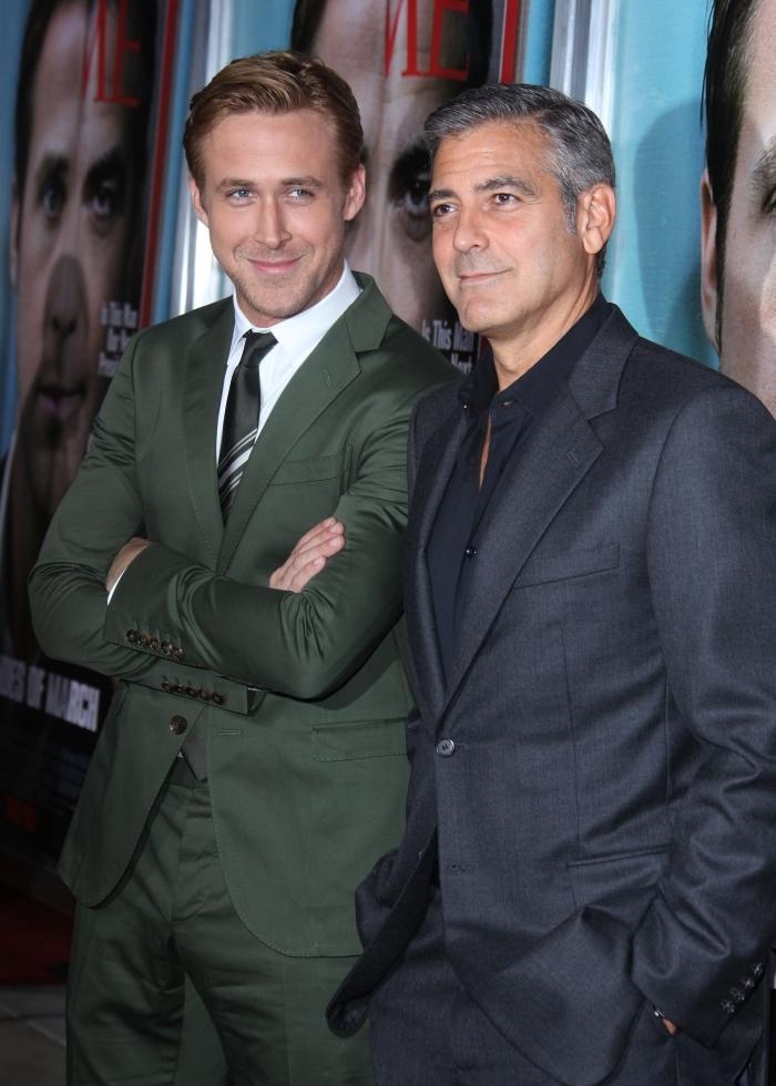 Райан Гослинг: Джордж Клуни как «The Beatles»
