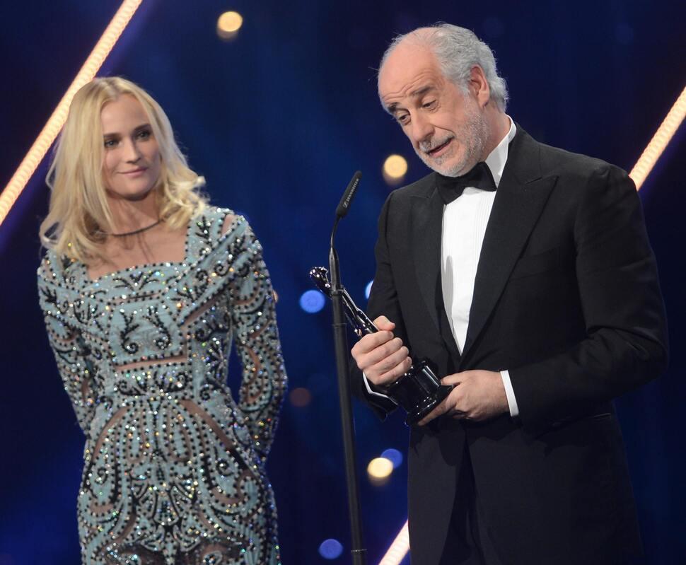 Звезды на European Film Awards