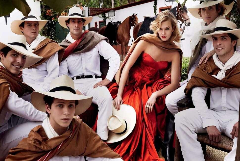Карли Клосс в журнале Vogue. Сентябрь 2014