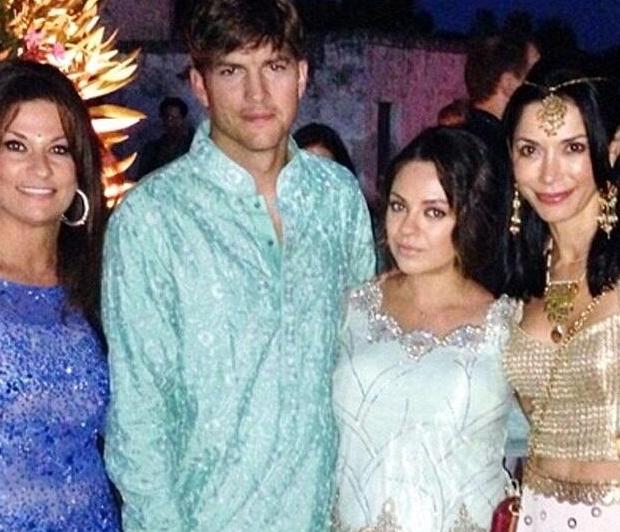 Видео: Эштон Кутчер танцует на индийской свадьбе