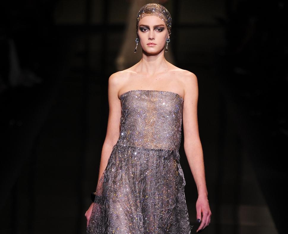 Модный показ новой коллекции Armani Prive. Весна / лето 2014