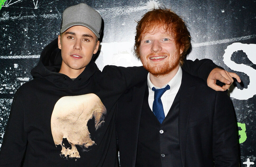 Эд Ширан и Джастин Бибер выпустили совместный сингл I Don't Care