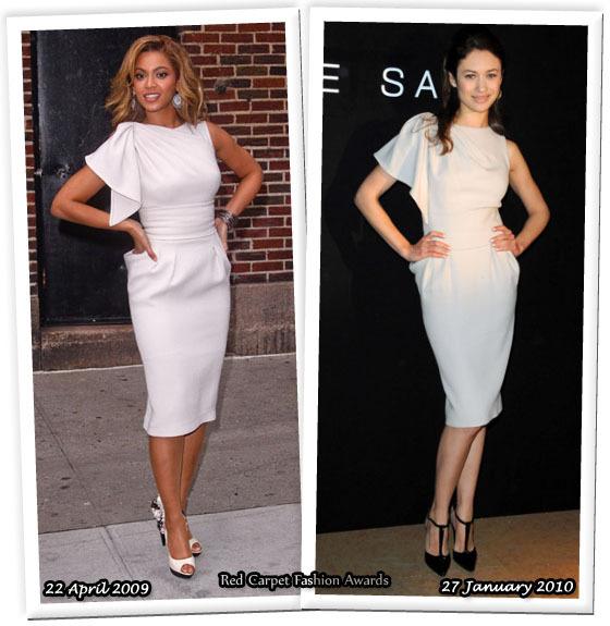 Fashion battle: Бейонсе и Ольга Куриленко