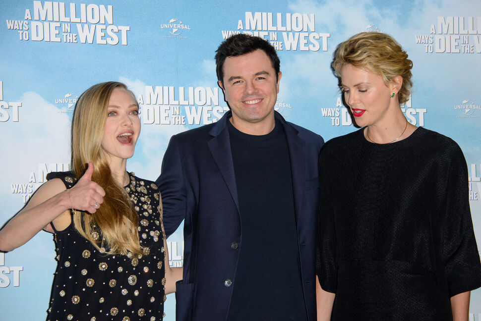 Премьера фильма «Миллион способов потерять голову» в Лондоне