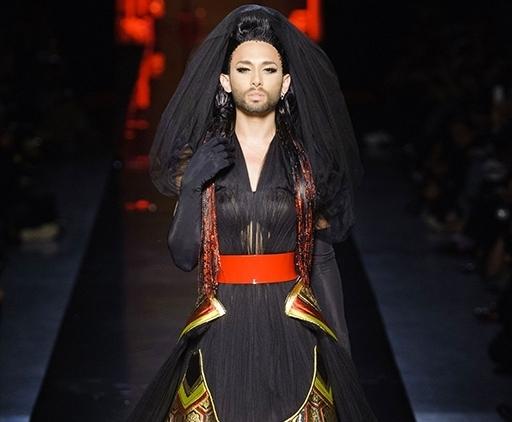 Модный показ новой коллекции Jean Paul Gaultier Couture. Осень / зима 2014-2015